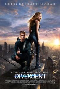 Divergence - filmový plakát
